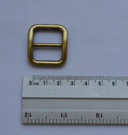 S24 Schuifgesp goud/brons 20mm