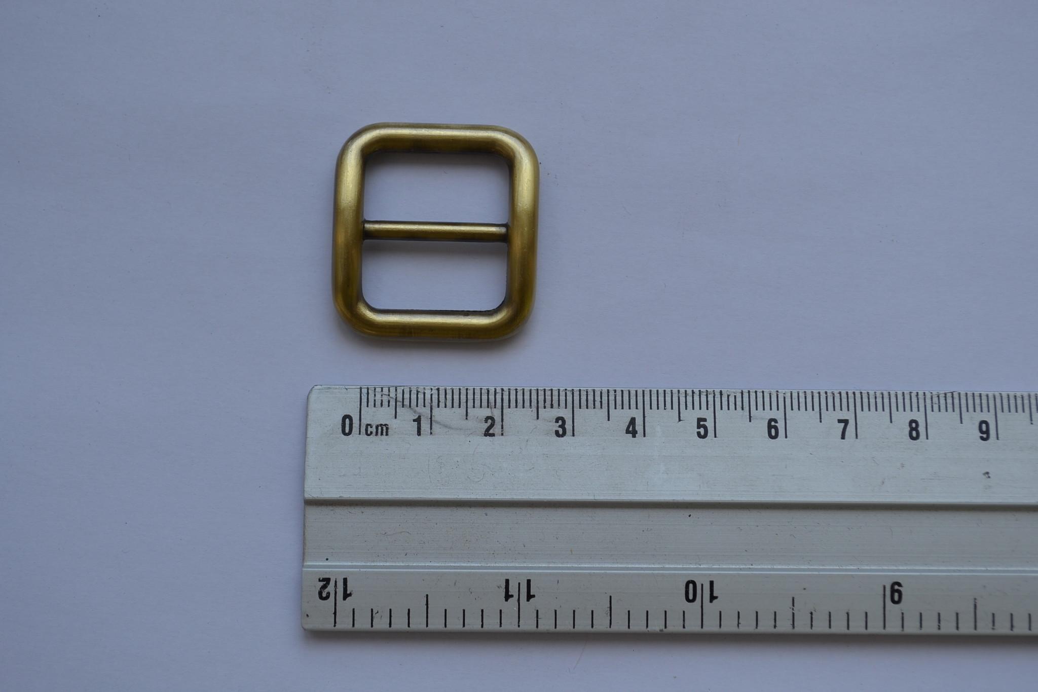 Schuifgesp goud/brons 20mm