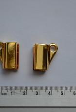 Soufflethaak goud (per 2)
