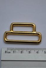 Draagriembevestiging goud 25/40mm