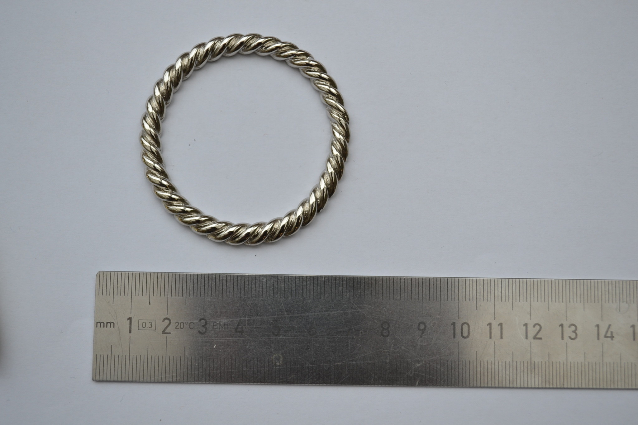 Ring zilver 50mm