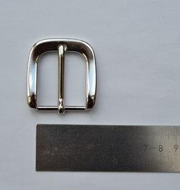 BU26 Gesp zilver 30mm