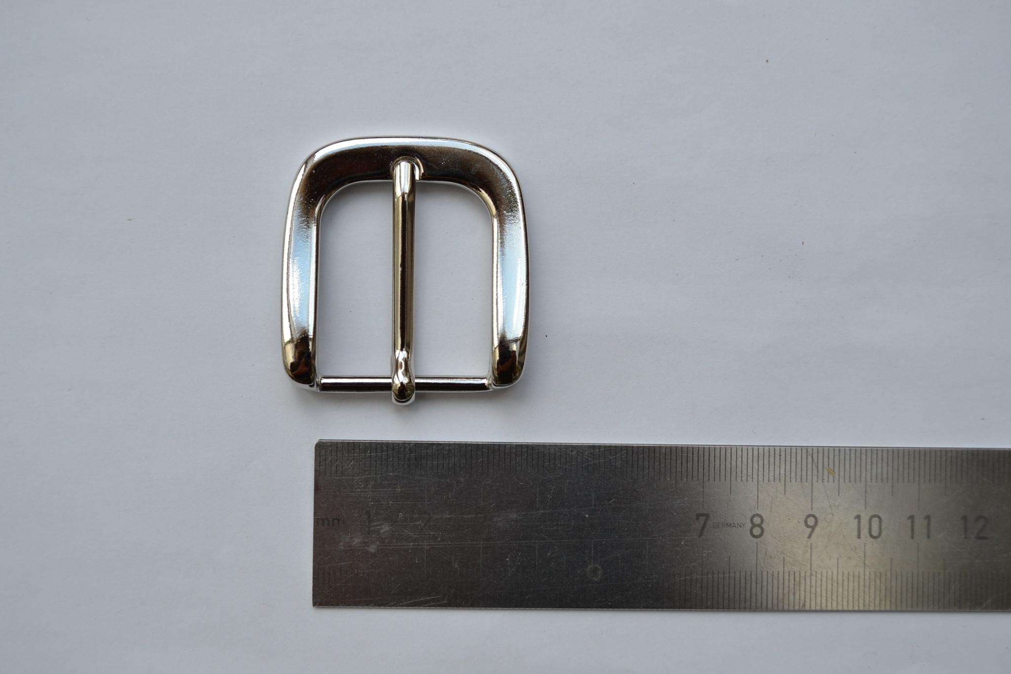Gesp zilver 30mm