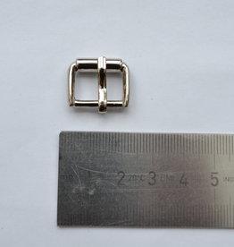 BU70 Gesp zilver 15mm