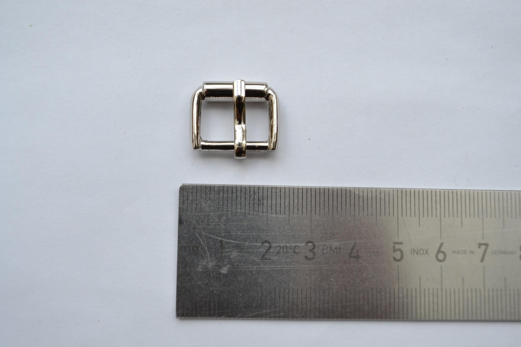 Gesp zilver 15mm