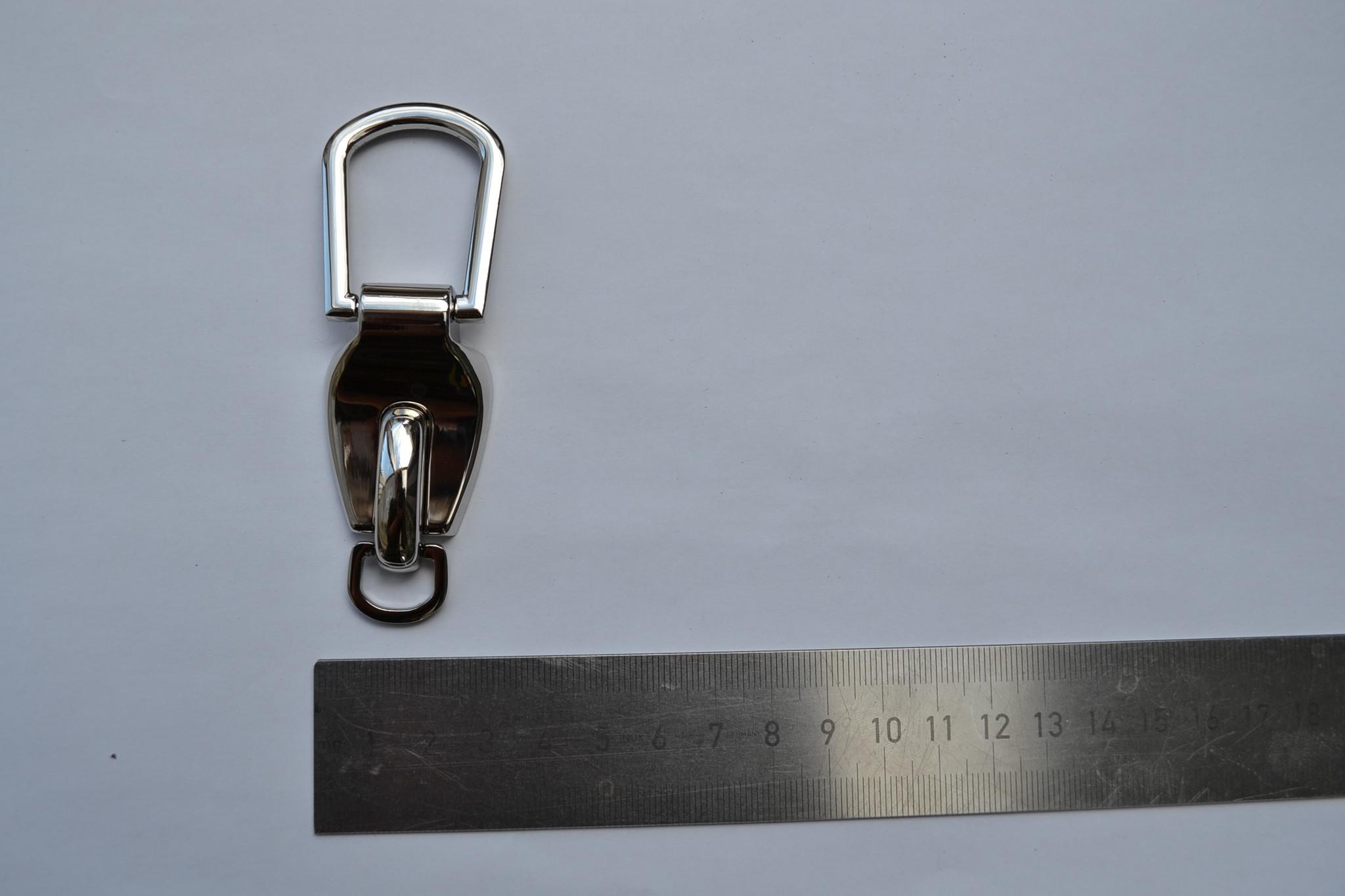 A19 Dubbele draagriembevestiging zilver 10/20mm