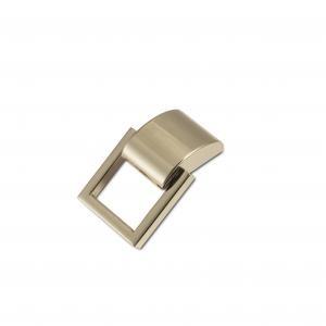 A87 Draagriembevestiging zilver met afdekplaatje 20mm
