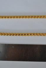 CH 8 Ketting goud 5mm