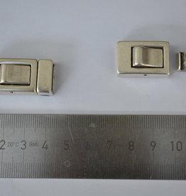 F17 Armbandsluiting oud-zilver 13mm