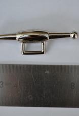 K 1  Ketting/draagriem bevestiging zilver 12mm