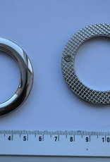 Rond oog zilver 36mm