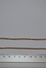 Fijne ketting goud (alluminium)