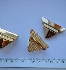 TUC 1 Tuc-sluiting driehoekig goud