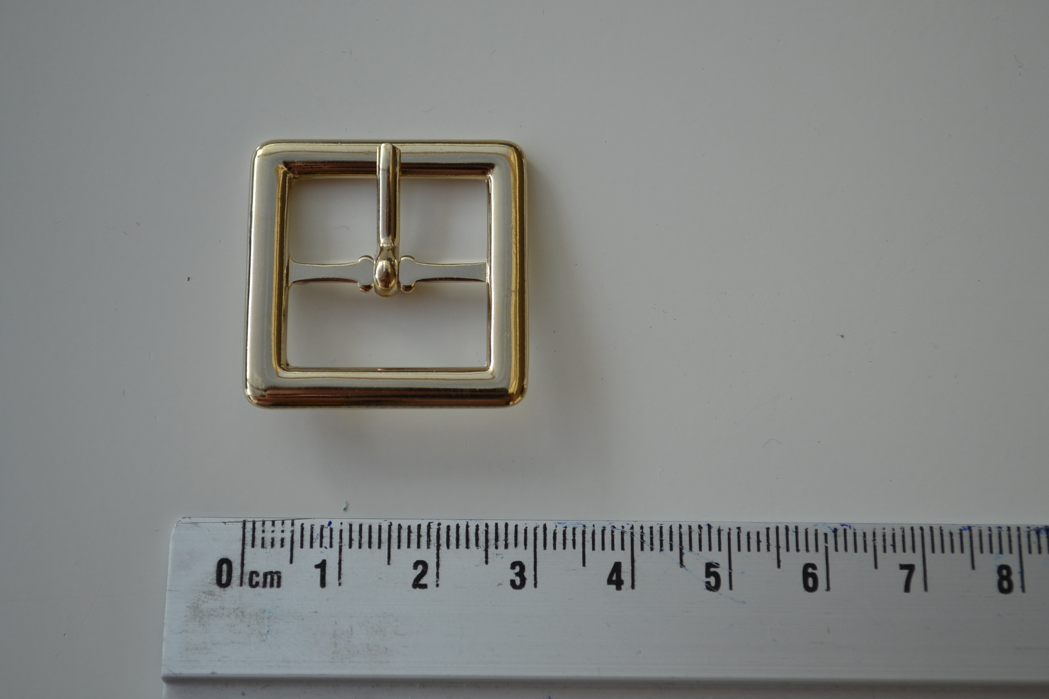 Gesp 20mm lichtgoud