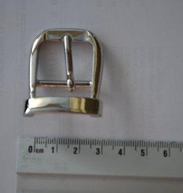 Bu14 Gesp zilver 25mm