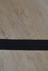 Nylon rits 20cm Zwart