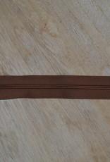 Nylon rits 25cm Middenbruin