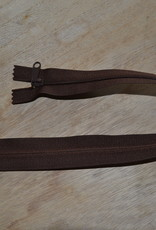 Nylon rits 40cm Bruin