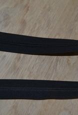 Nylon rits 50cm Zwart