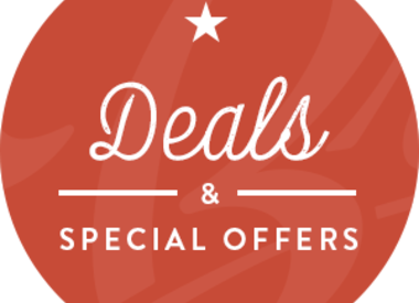 Deals & special offers !