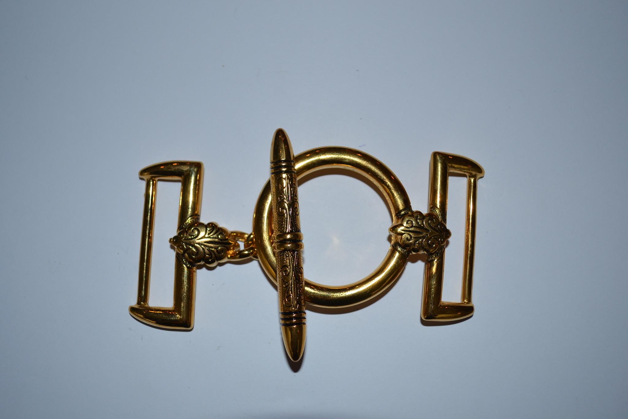 Draagriembevestiging goud 40mm exclusief model
