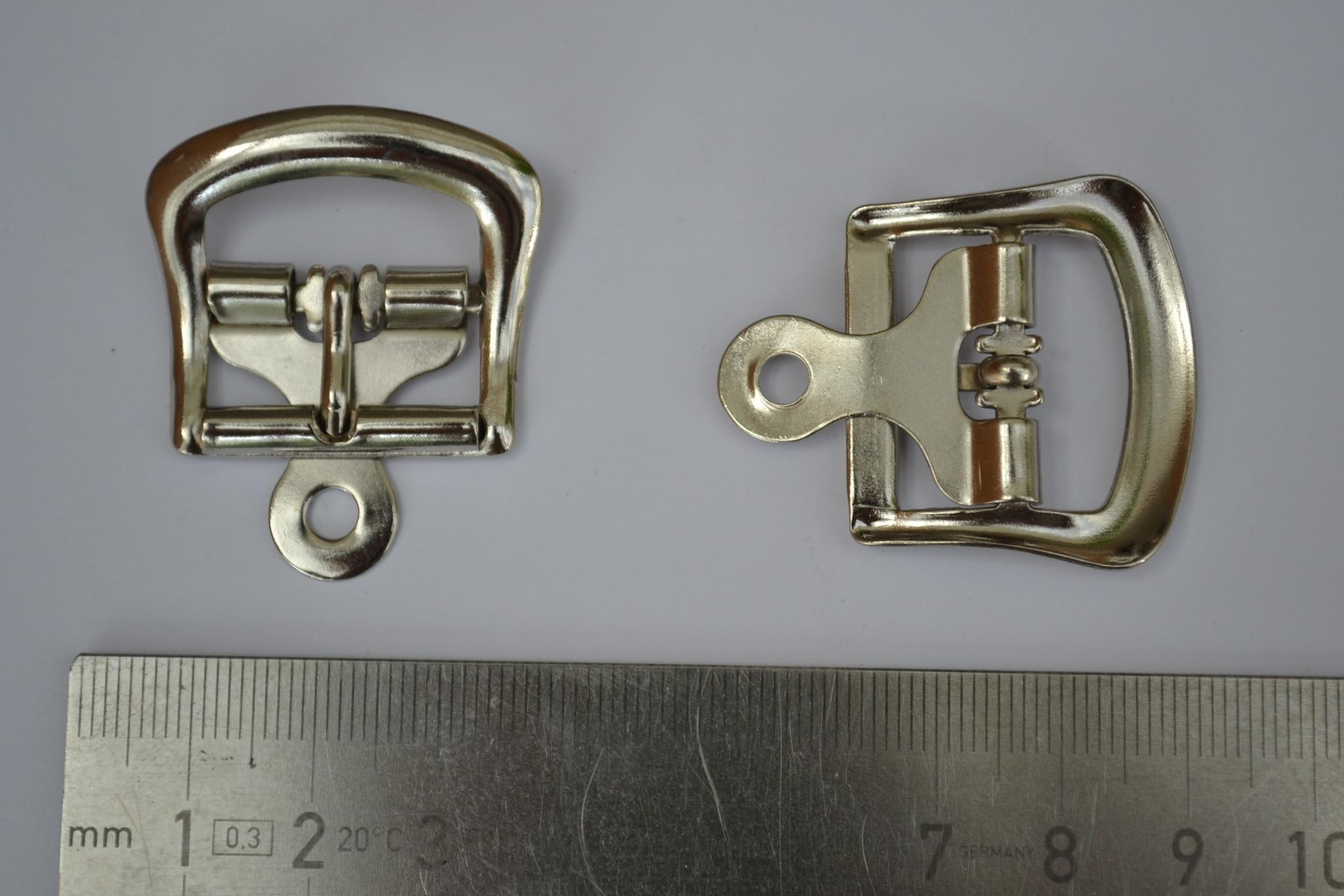 Gesp zilver 20mm