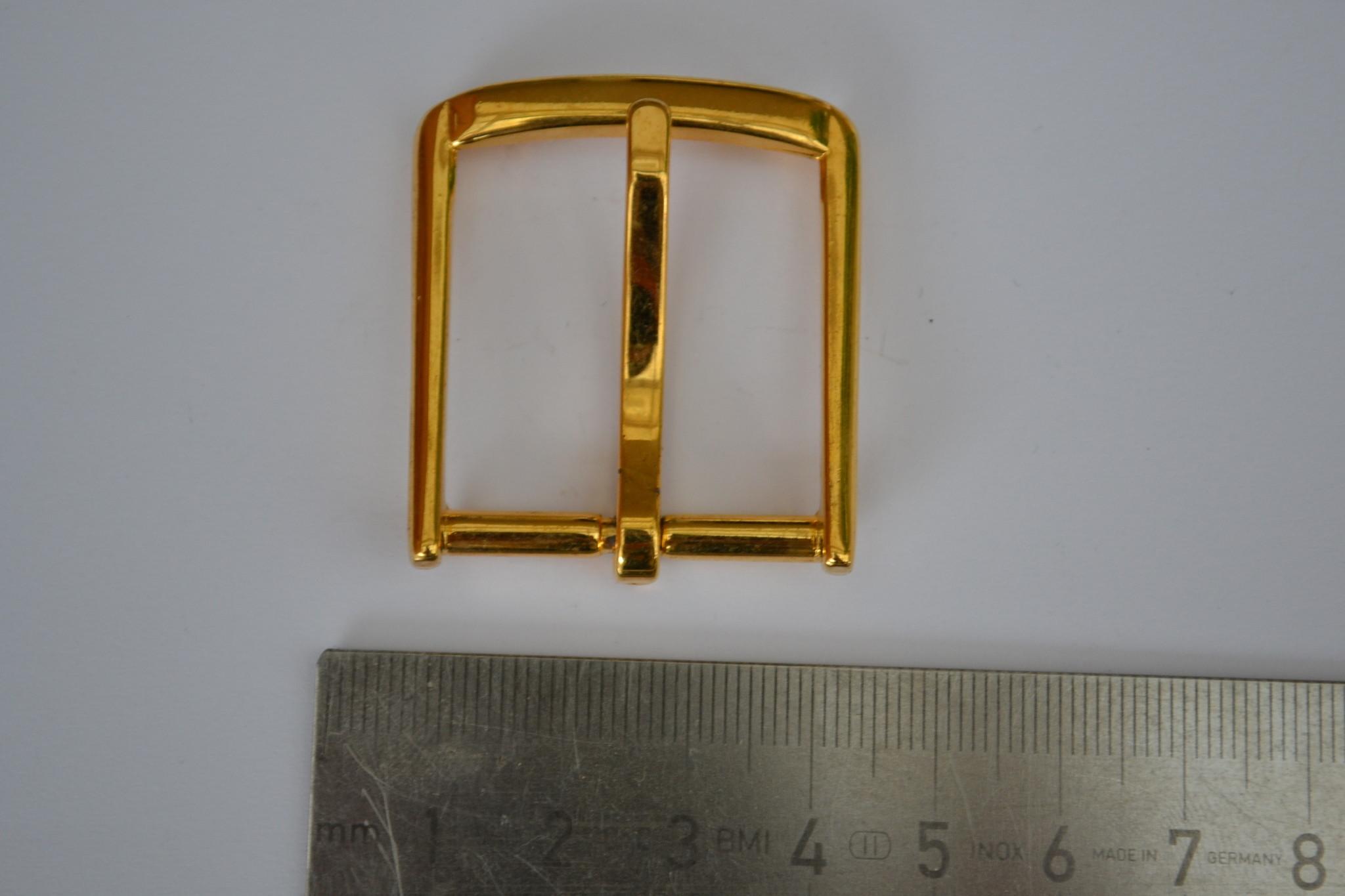 Gesp goud 30mm