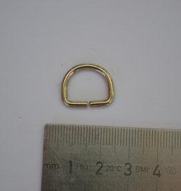 R106 D-ring 15mm zilver