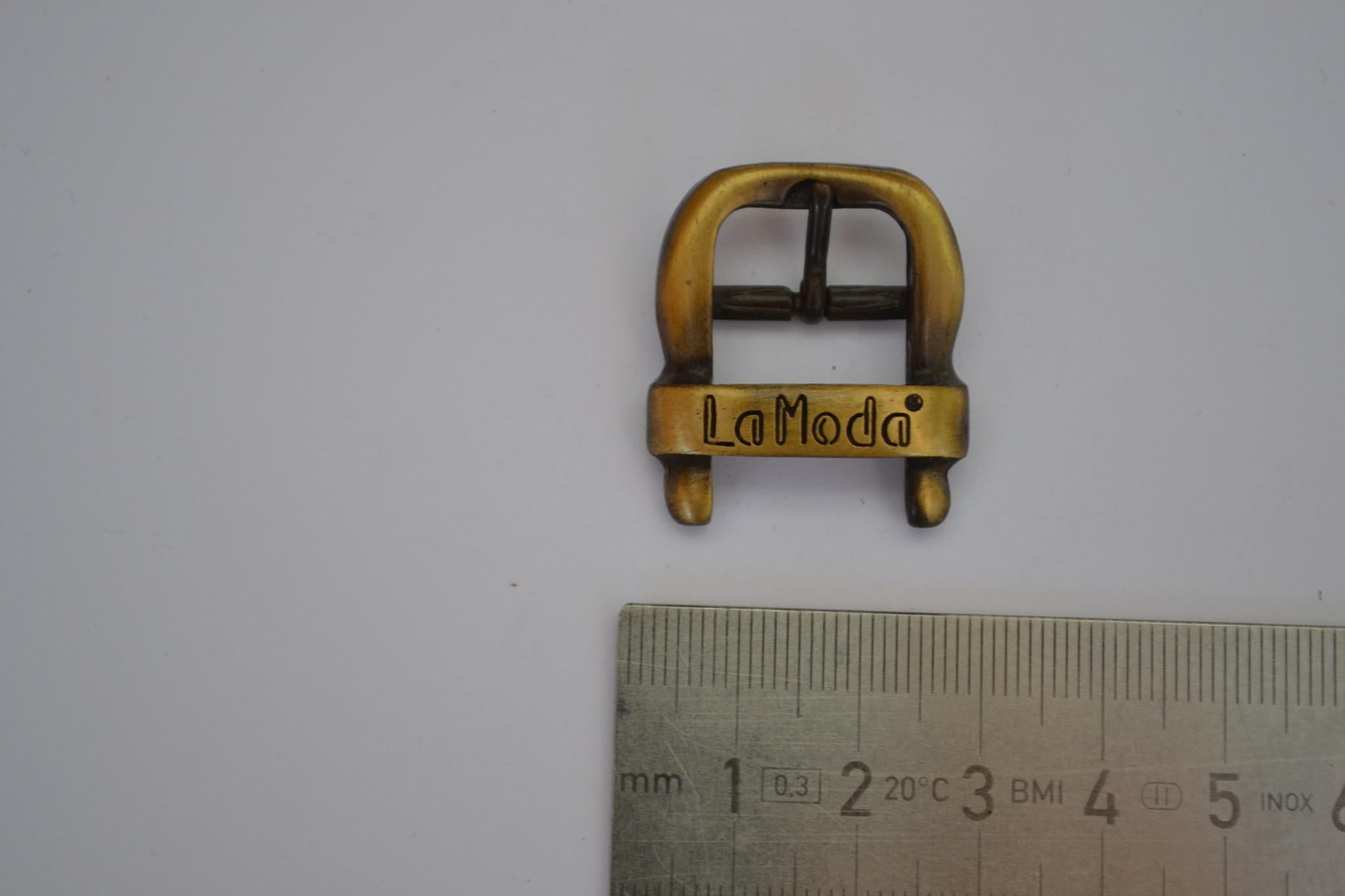 BU21 gesp met passant 15 mm brons