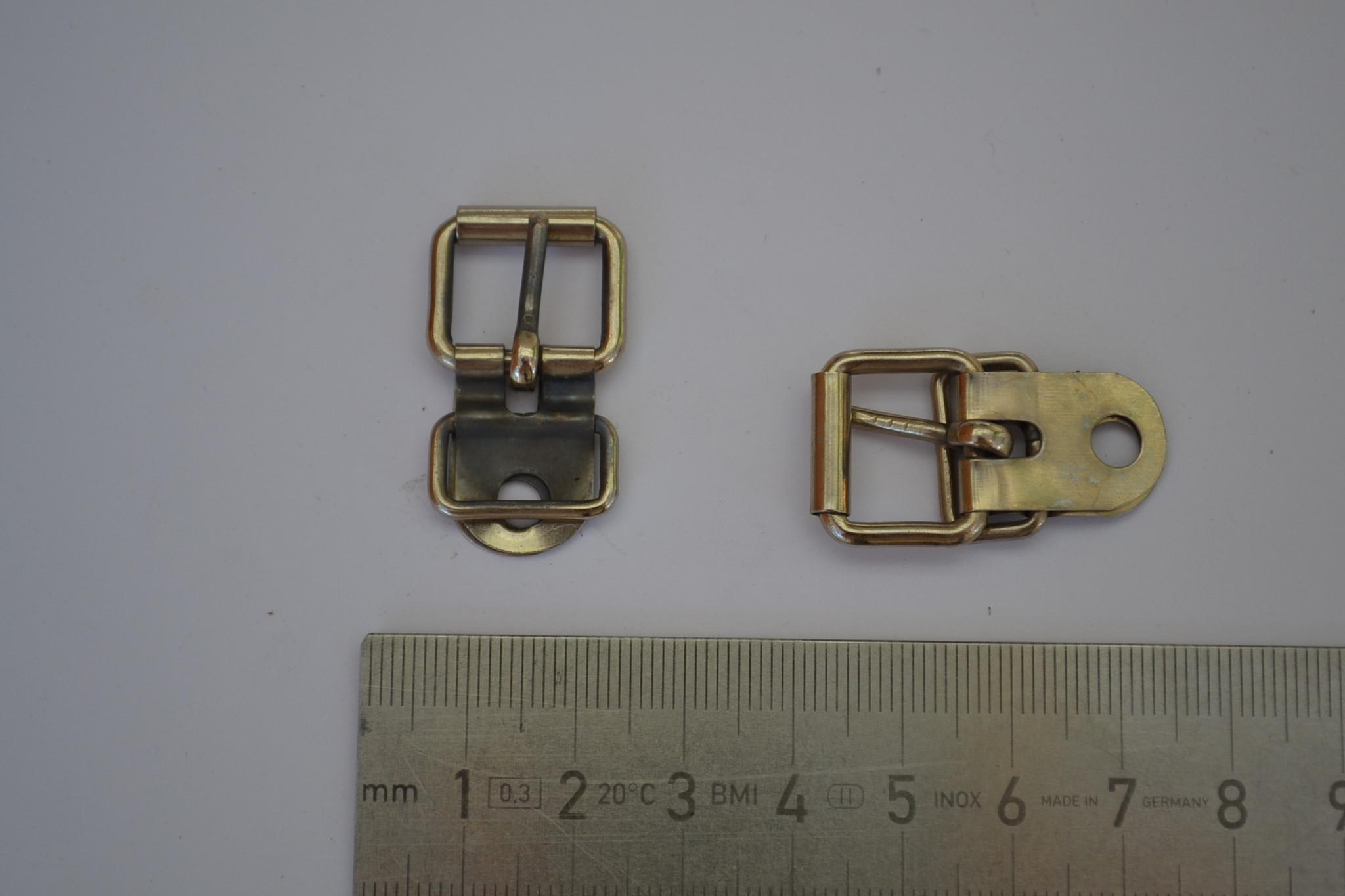 Gesp met passant zilver 13mm