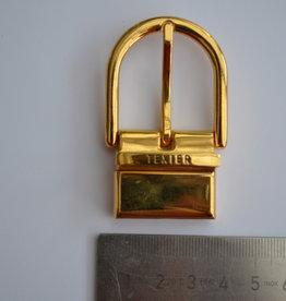 BU16 Gesp met passant 30mm goud