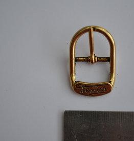 BU86 Gesp met passant 18mm goud