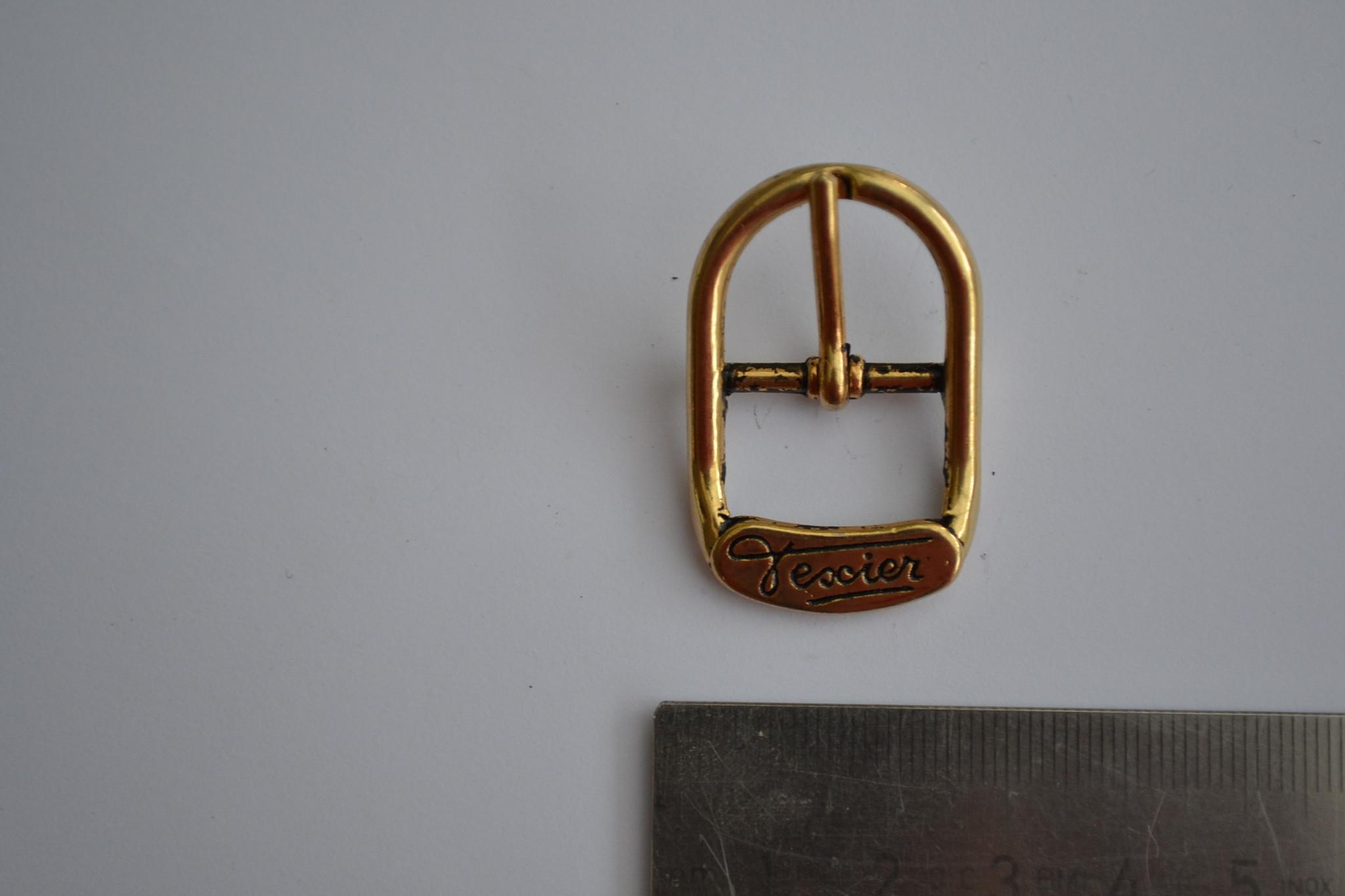 Gesp met passant 18mm goud