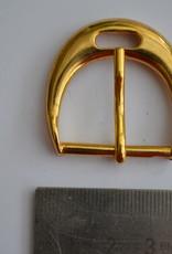 Gesp  Gesp 25mm goud