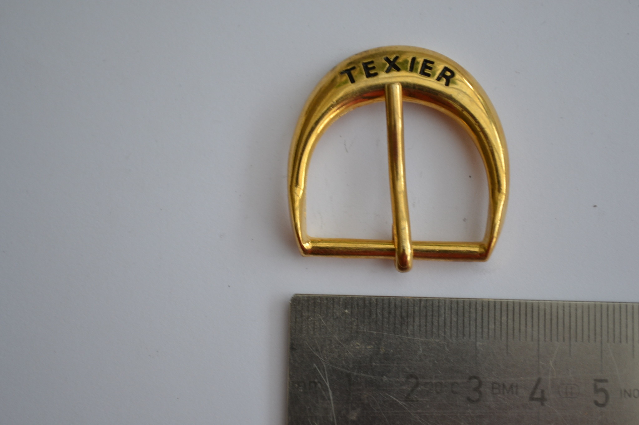 Gesp 25mm goud