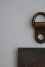 Draagriembevestiging brons 7mm