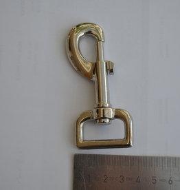 SC A Musketonhaak zilver 25mm