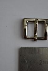 BUB Gesp 15mm zilver
