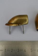 AA draagriembevestiging brons dia 10mm (per2)