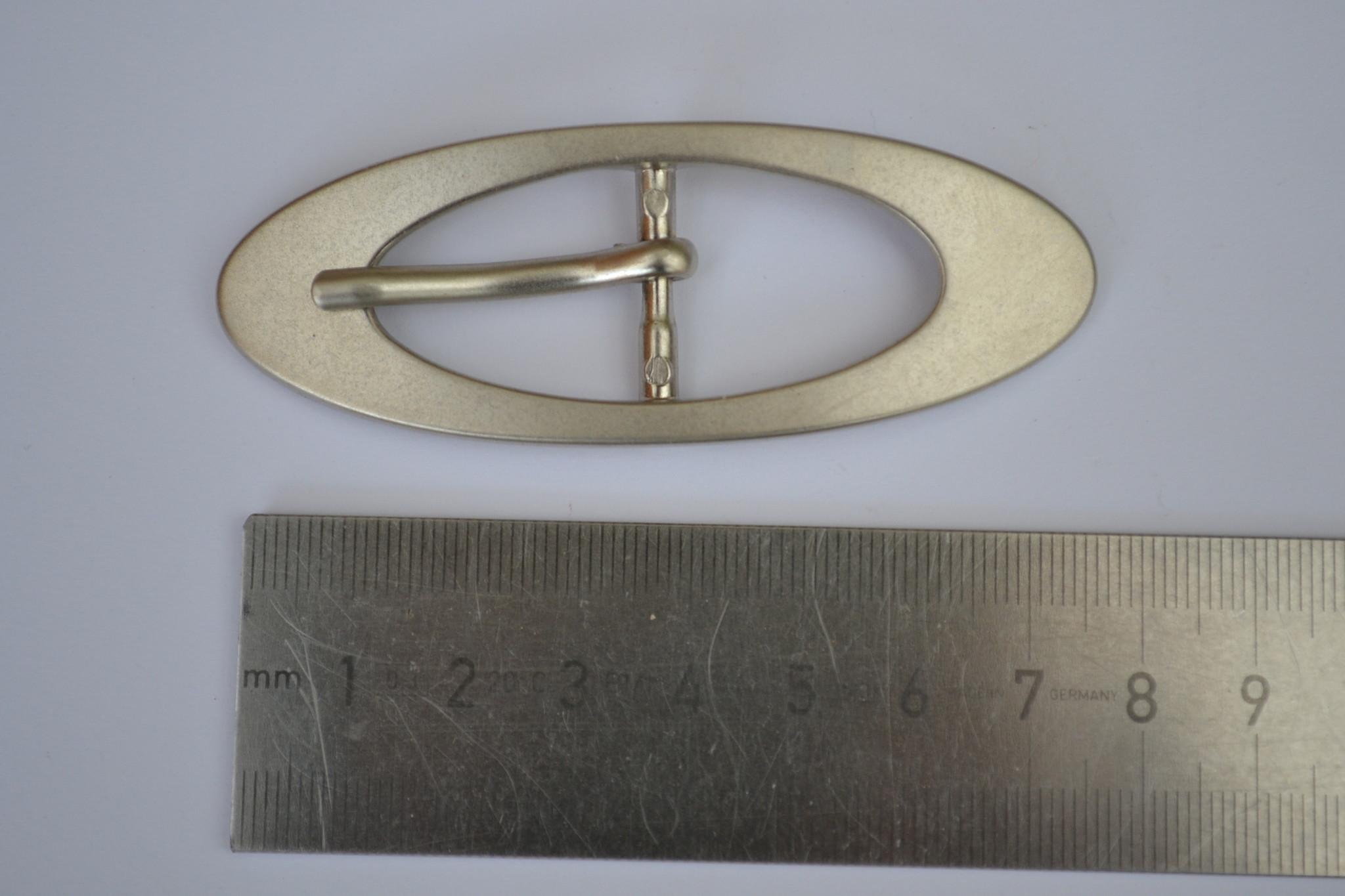 BUO Gesp zilver 20mm