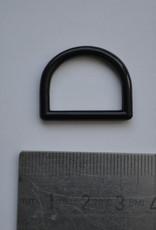 R130 D-ring blauw plastic 20mm