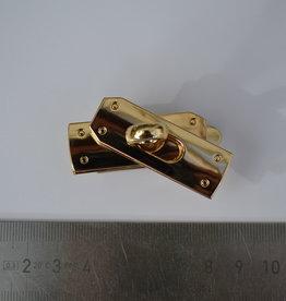 25530 RV TW1 Sluiting goud  (cfr Birkin bag Hermès)