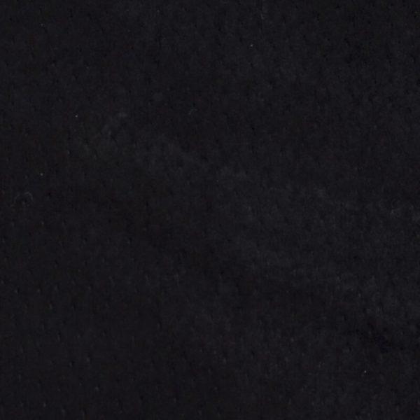 Pigsplit Velour Black 9,75 voet