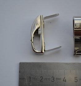 A121 Draagriembevestiging zilver