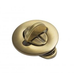 TW27 Ovale draaisluiting brons