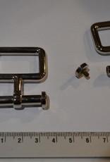 A41 Draagriembevestiging zilver 25mm