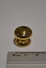 POM5 Geweerknopjes goud  3x7 kop 17.70mm