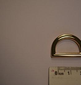 R52 D-ring goud 20mm
