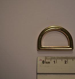R78 D-ring goud 25mm
