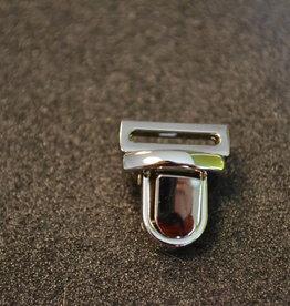TUC22 Boekentassluiting zilver